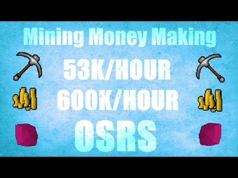 Mining +600K/HOUR Money Making Guide #63 Old School Runescape 2007 ( OSRS )