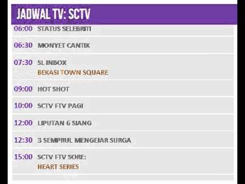 Jadwal TV: SCTV - 20 Juli 2014
