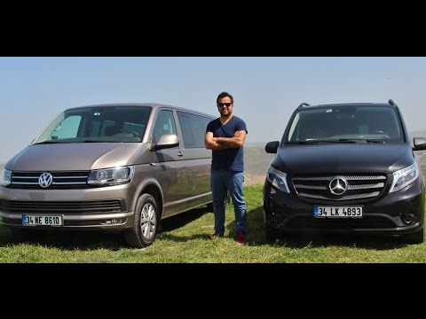 vw caravelle vs mercedes benz vito kar la t rma youtube. Black Bedroom Furniture Sets. Home Design Ideas