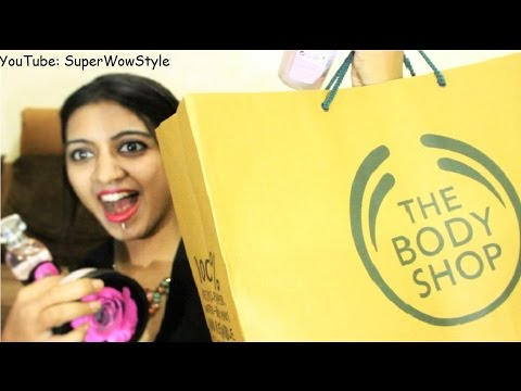 HUGE The Body Shop Haul!  British Rose Collection Review | SuperWowStyle