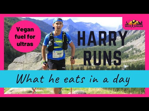 What a top vegan athlete eats in a day - Harry Runs (pro ultra runner)
