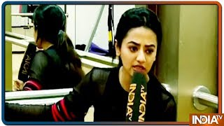 Barkha Sengupta gives fitness goal to all her fans