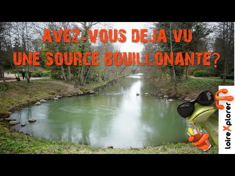 Pourquoi la rivière Loiret a une source bouillonnante insolite