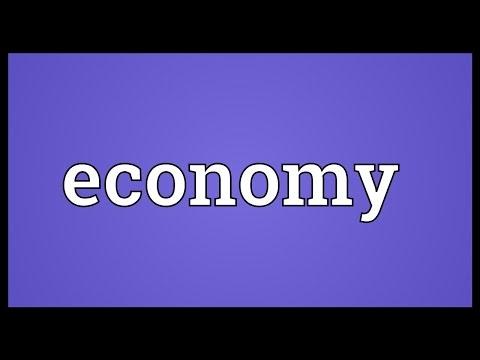 Economy Meaning