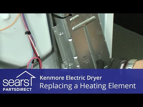 How to Replace a Kenmore Electric Dryer Heating Element ... Kenmore Mod Wiring Diagram on