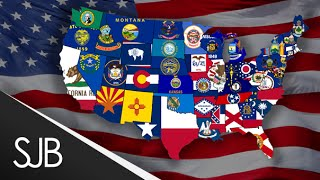 US states - States of the United States of America - The 50 States