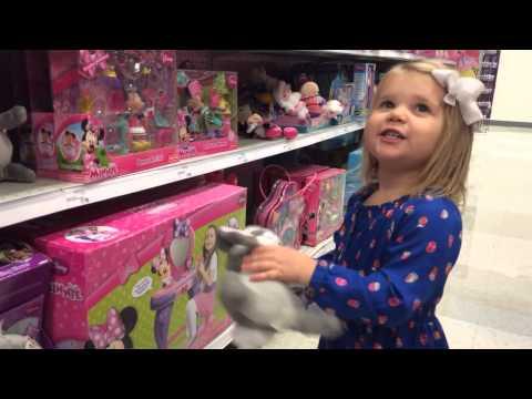 Olivia Shops For Toys