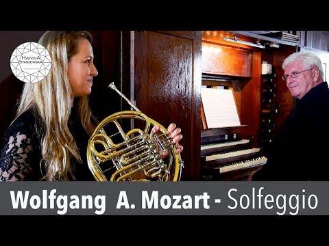 W. A. Mozart - Solfeggio    Hanna Staszewska - Horn