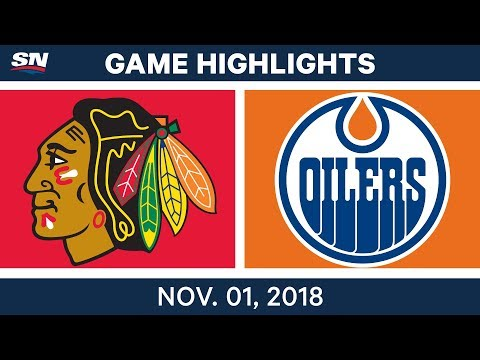 NHL Highlights | Blackhawks vs. Oilers – Nov. 1, 2018
