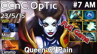 CCnC OpTic Queen Of Pain - Dota 2 Full Game 7.17