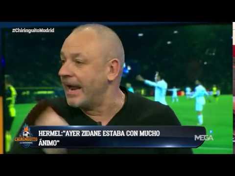 """Hermel: """"Zidane vio BROTES VERDES en el EMPATE ante el Atleti. CREEN en la REMONTADA"""""""