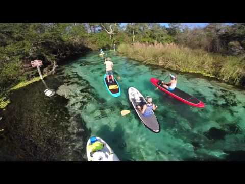 Florida Adventures in Paddle Boarding