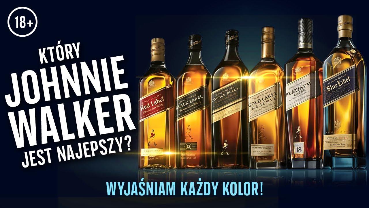 Download Johnnie Walker - co znaczą różne kolory? Red, Black czy Blue Label? Etykiety sławnej Scotch whisky
