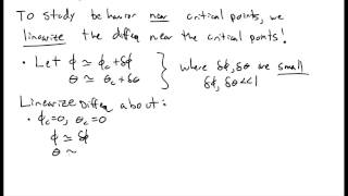 Non linear Phase Space