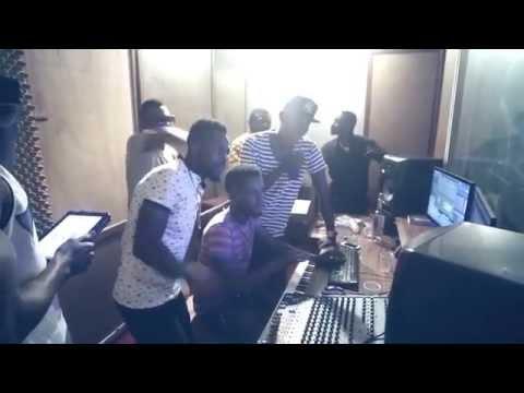 Vibz ft Sarkodie - Baby Mama (Studio Session)