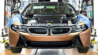 2018 BMW i8 and BMW i3 Production