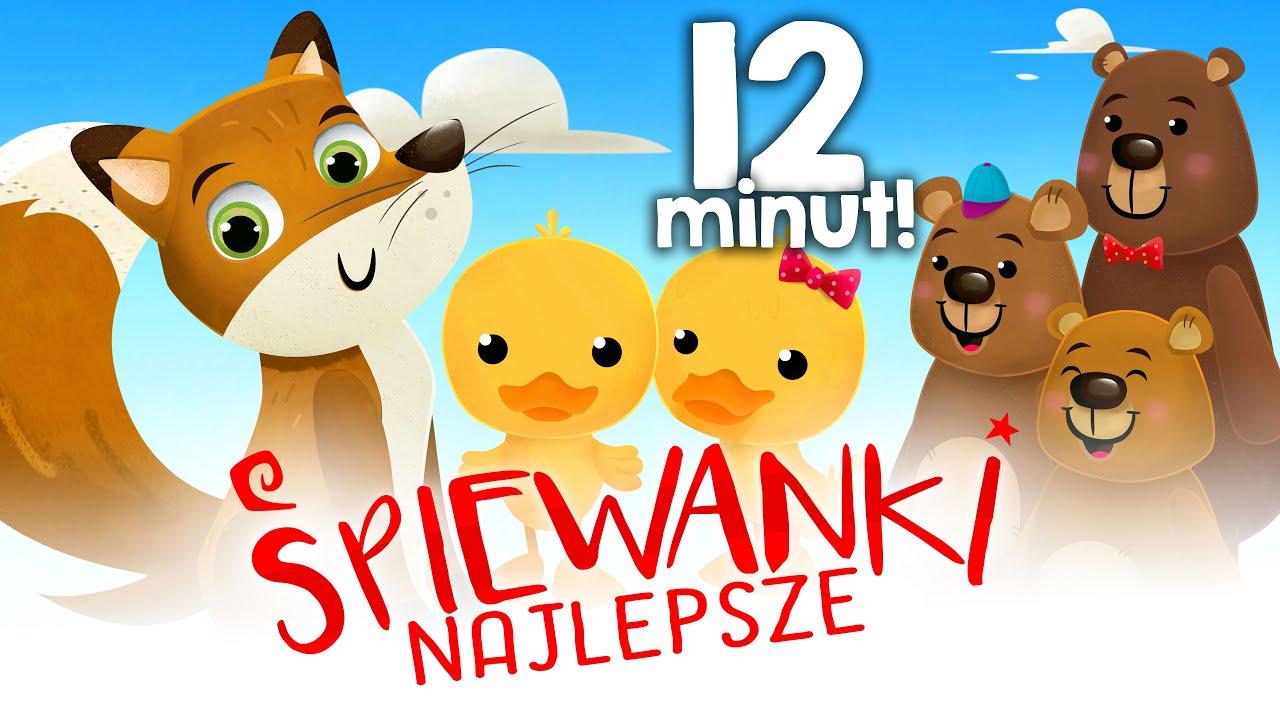 ☀️Najpopularniejsze polskie piosenki dla dzieci☀️ – składanka – cz.2 😍Śpiewanki.tv