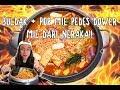 BULDAK + POP MIE PEDAS DOWER = MIE DARI NERAKA!!!