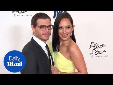 Cheryl Burke and Matthew Lawrence are arm and arm at MS event  Daily Mail