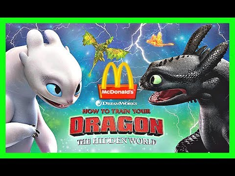 2019 Prediction Mcdonalds How To Train Your Dragon 3 Happy Meal Toys After Lego Movie 2 Youtube