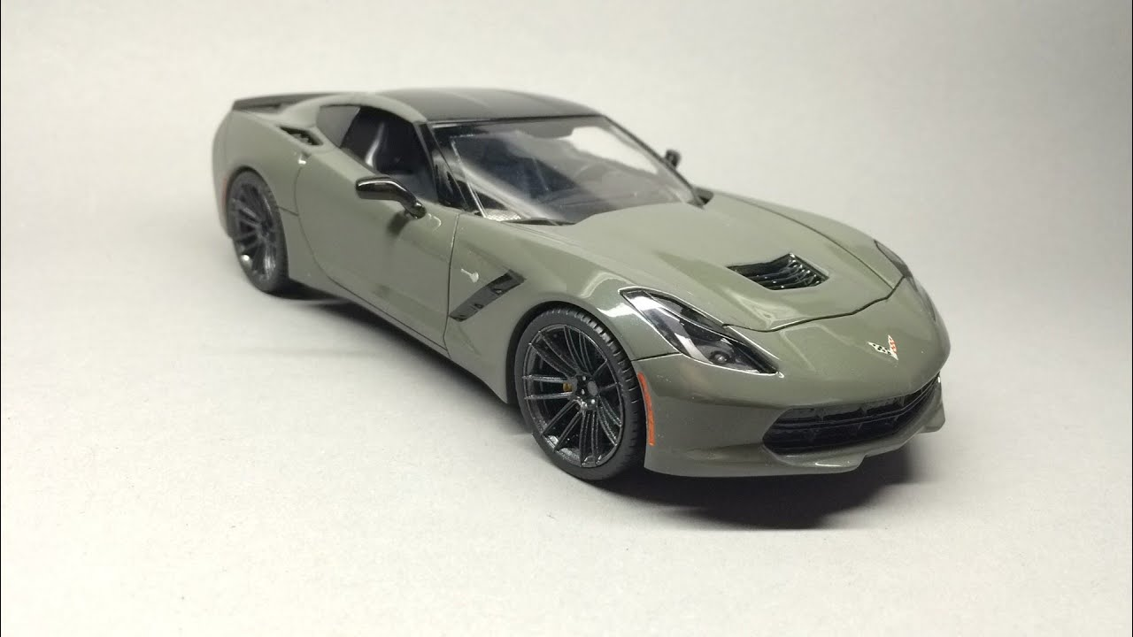 Revell: Corvette C7 Stingray Final Detailsu0026 Assembly   YouTube