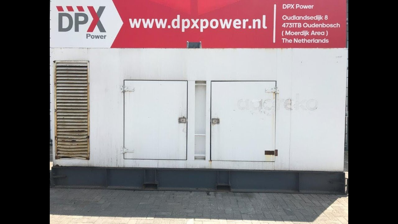 DPX Power: Loadtest Scania DC16 43A - 550 kVA Generator set - DPX-11377