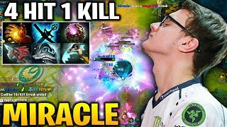 MIRACLE OD 4 Hits 1 Kill - But His Team Carrier Is too Bad