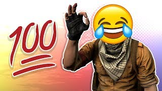 "CS:GO FUNTAGE! - ""100 Hundred"" Emoji, Door Stuck & Chicken Stuck!"