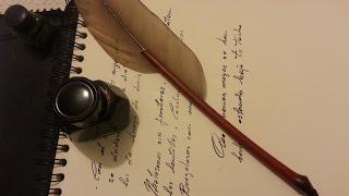 CÓMO FABRICAR UNA PLUMA DE ESCRITURA CON BAMBÚ. BAMBOO WRITING PEN