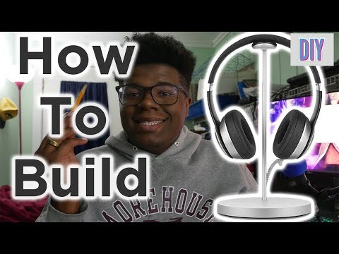 How to Build a D.I.Y headphone stand for ONLY 10 dollars