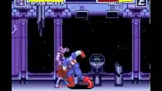 Marvel Super Heroes: War of the Gems (SNES) - Longplay