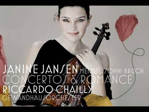 Janine Jansen - Concertos & Romance (trailer)