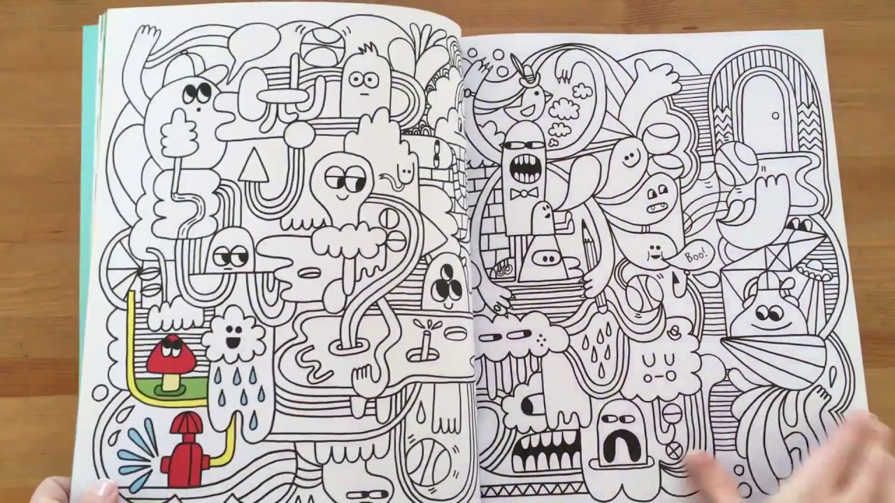 The Best Big Book Of Drawing Doodling And Colouring Usborne Youtube