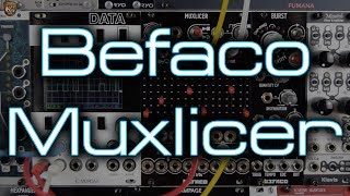 Befaco - Muxlicer (bi-directional switch, sequencer, advance pattern generator and more!)