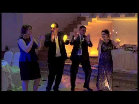 ARMENIAN WEDDING, IN YEREVAN Part 8 ( Eduard And Zepyur)  AT ST. SARKIS, URENI RESTAURANT
