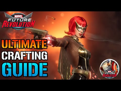 MARVEL Future Revolution: Amazing CRAFTING GUIDE! How To Craft Costumes & Upgrade Them For FREE