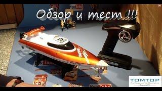 Радиоуправляемый Катер-лодка FeiLun FT009 из Китая.Обзор и тестирование.TomTop