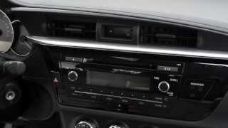 2014 Toyota Corolla L Radio & Dash Trim Removal ~ CE S 11th Gen Stereo