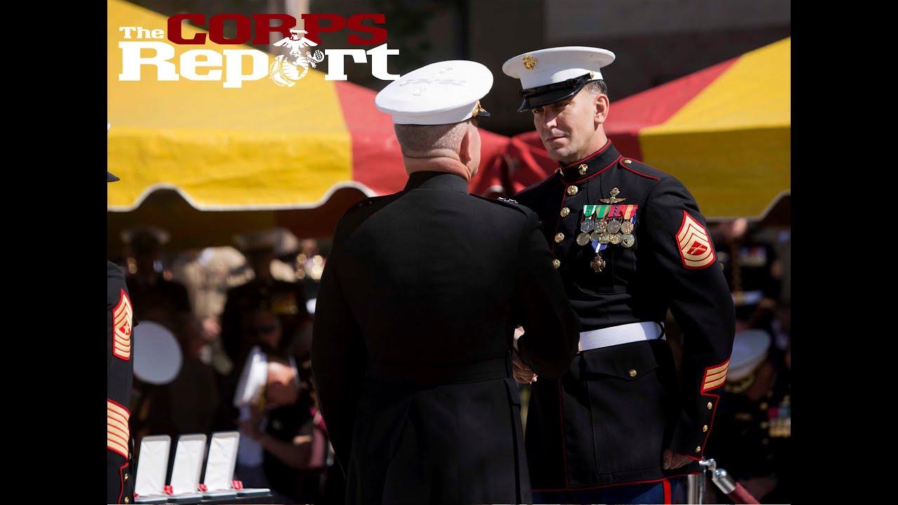 Marsoc Marine Awarded Navy Cross The Corps Report Ep 53