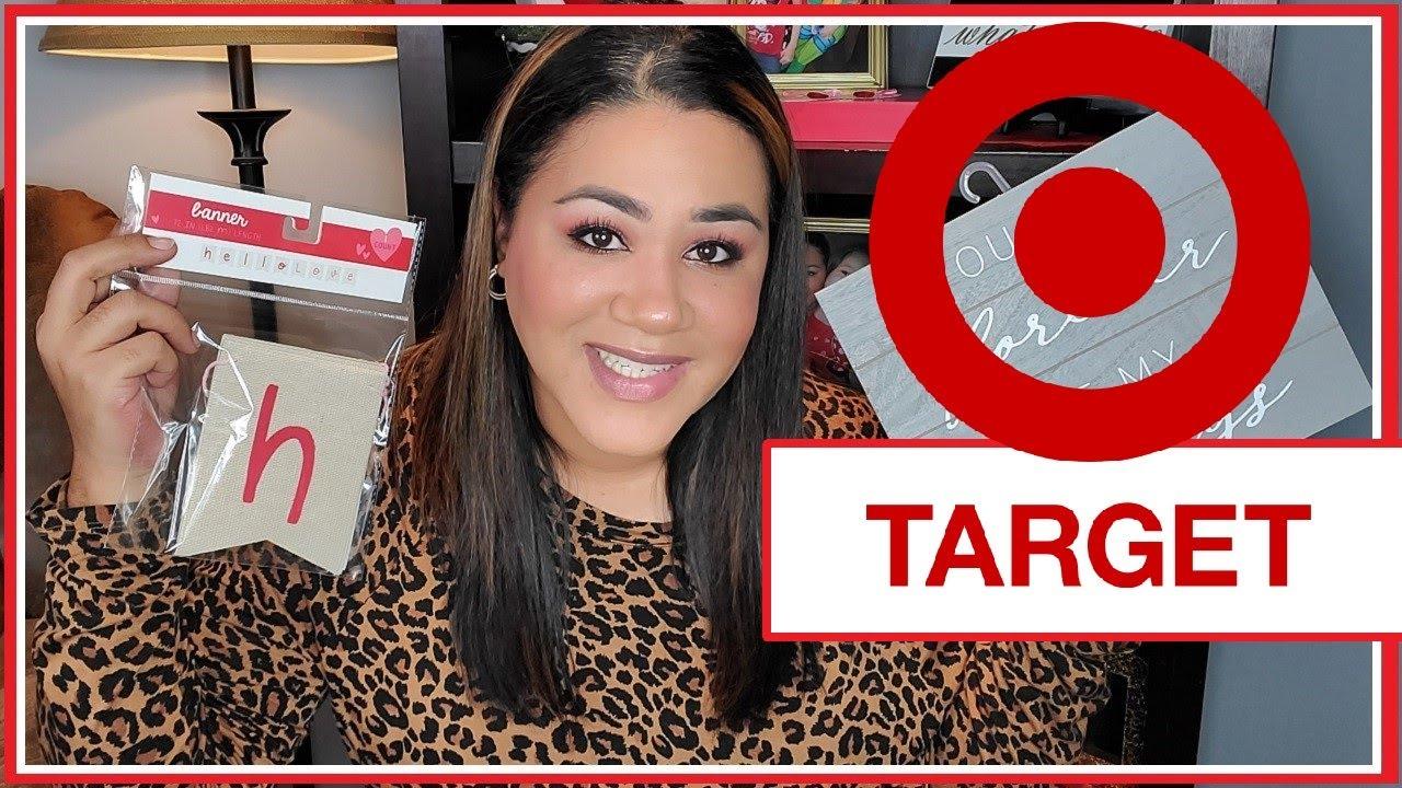 New Target Dollar Spot Haul Valentine