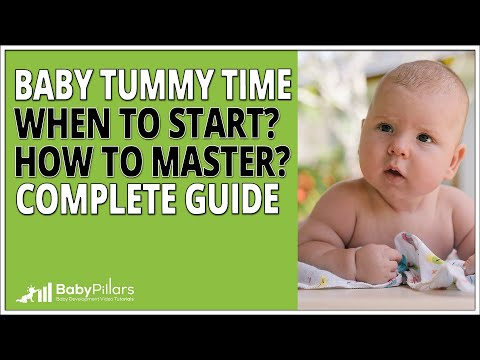 Tummy Time - When to start and what you must know [2020]