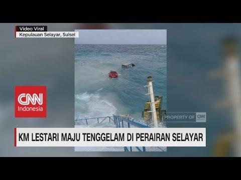 Lagi, Kapal Feri Kandas di Perairan Selayar Sulsel