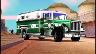 GTA Vice City - All Police & Military Vehicles