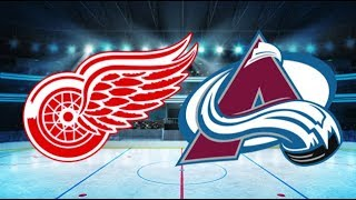 Detroit Redwings vs Colorado Avalanche (1-5) – Mar. 18, 2018 | Game Highlights | NHL 2018
