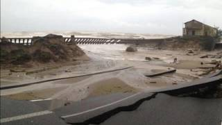 landslides and heavy rainfall in Bruzzano, Calabria, Italy