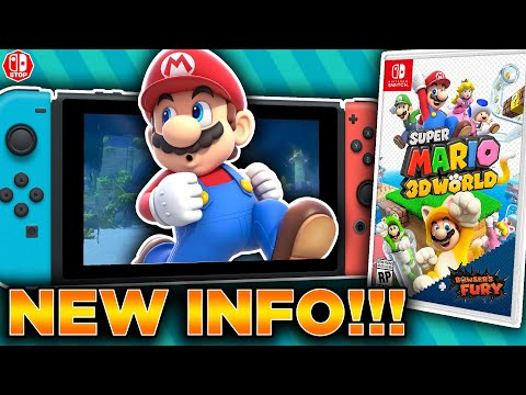 This NEW Super Mario 3D World + Bowser's Fury Information Is HYPE!