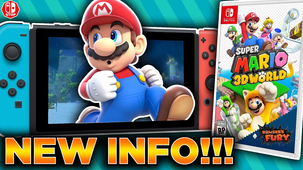Super Mario 3D World + Bowser's Fury on Switch has online play ...