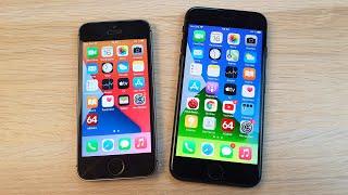 IPHONE SE (2016) VS IPHONE 7 - ЧТО ВЫБРАТЬ В 2021 ГОДУ? ЛУЧШИЙ БЮДЖЕТНЫЙ АЙФОН!