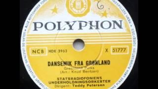 Dansemik fra Grønland (Greenland polka) - Teddy Petersen 1955