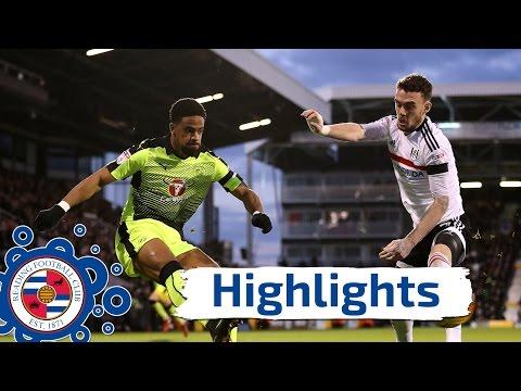 Fulham 5-0 Reading - Saturday 3rd December 2016, Sky Bet Championship (2016/17 highlights)